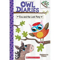 Owl Diaries #08 Eva and the Lost Pony (Branches)-BuyBookBook