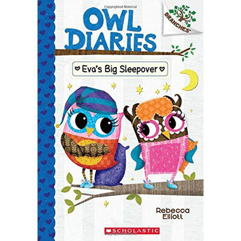 Owl Diaries #09 Eva's Big Sleepover (Branches)-BuyBookBook