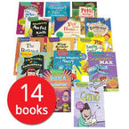 Oxford Reading Tree: Chucklers Fun Fiction Collection (14 Books)-BuyBookBook