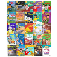 Read With Biff, Chip And Kipper Levels 4 5 6 Collection (25 Books)-BuyBookBook