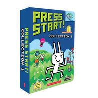 Press Start! #1-5 Bundle (5 Book with CD) (Branches)-BuyBookBook