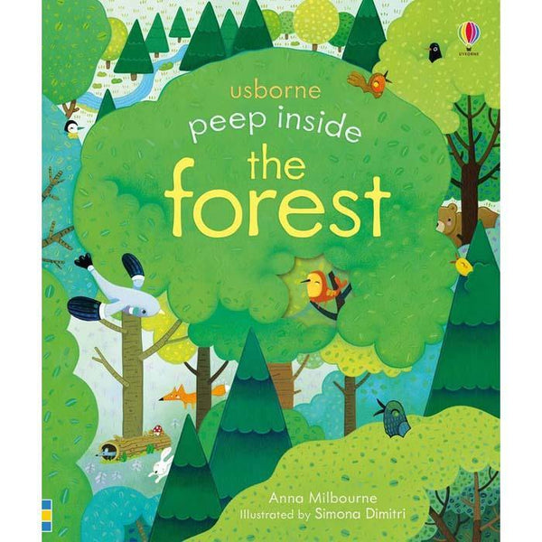 Usborne Peep inside the Forest-BuyBookBook