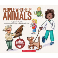 Cantata Learning People Who Help Animals (Book + CD)-BuyBookBook