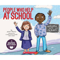 Cantata Learning People Who Help at School (Book + CD)-BuyBookBook