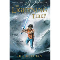 Percy Jackson and the Olympians #1 The Lightning Thief (Graphic Novel)-BuyBookBook