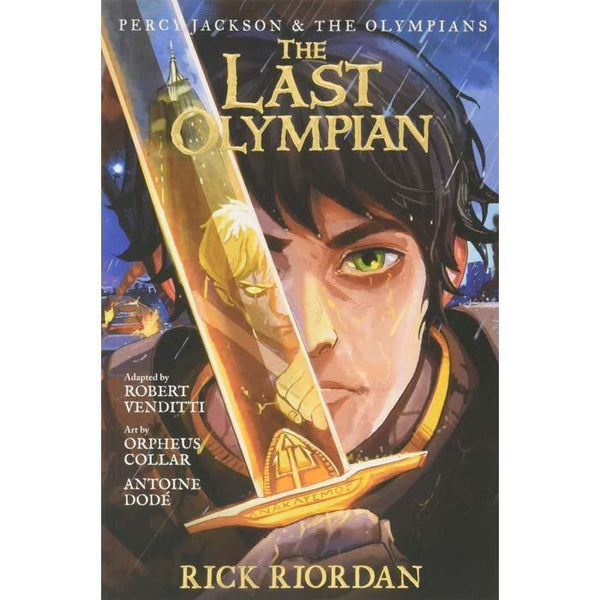 Percy Jackson and the Olympians #5 The Last Olympian (Graphic Novel)-BuyBookBook