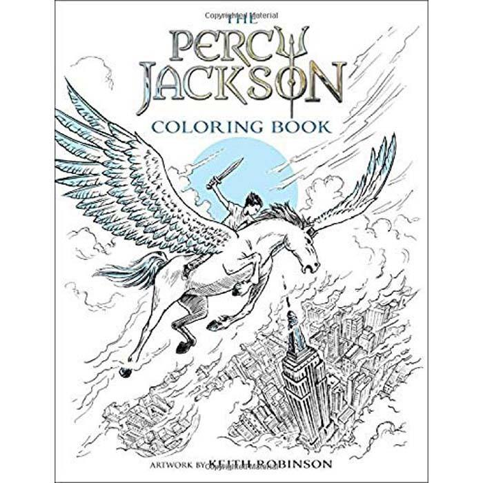 Percy Jackson and the Olympians Coloring Book-BuyBookBook