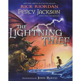 Percy Jackson and the Olympians The Lightning Thief Illustrated Edition-BuyBookBook
