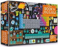Usborne Periodic table picture book and jigsaw (300 pcs)-BuyBookBook