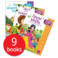 Phonics Readers Fairy Tale Collection (9 Books)-BuyBookBook