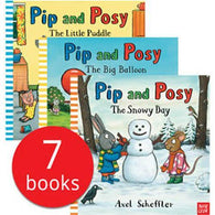 Pip and Posy Collection (7 Books with Audio QR Code )-BuyBookBook