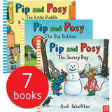 Pre-order : Pip and Posy Collection (7 Books with Audio QR Code )-BuyBookBook