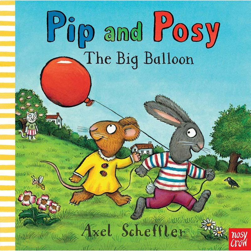 Pip and Posy The Big Balloon ( Book with Audio QR Code )-BuyBookBook