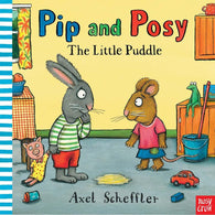 Pip and Posy The Little Puddle ( Book with Audio QR Code )-BuyBookBook