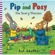 Pip and Posy The Scary Monster ( Book with Audio QR Code )-BuyBookBook