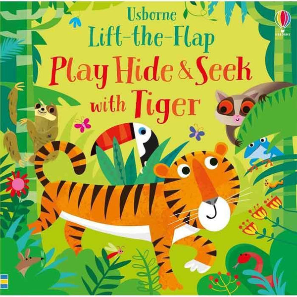 Play Hide and Seek With Tiger-BuyBookBook