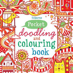 Pocket Doodling and Colouring Book Red-BuyBookBook