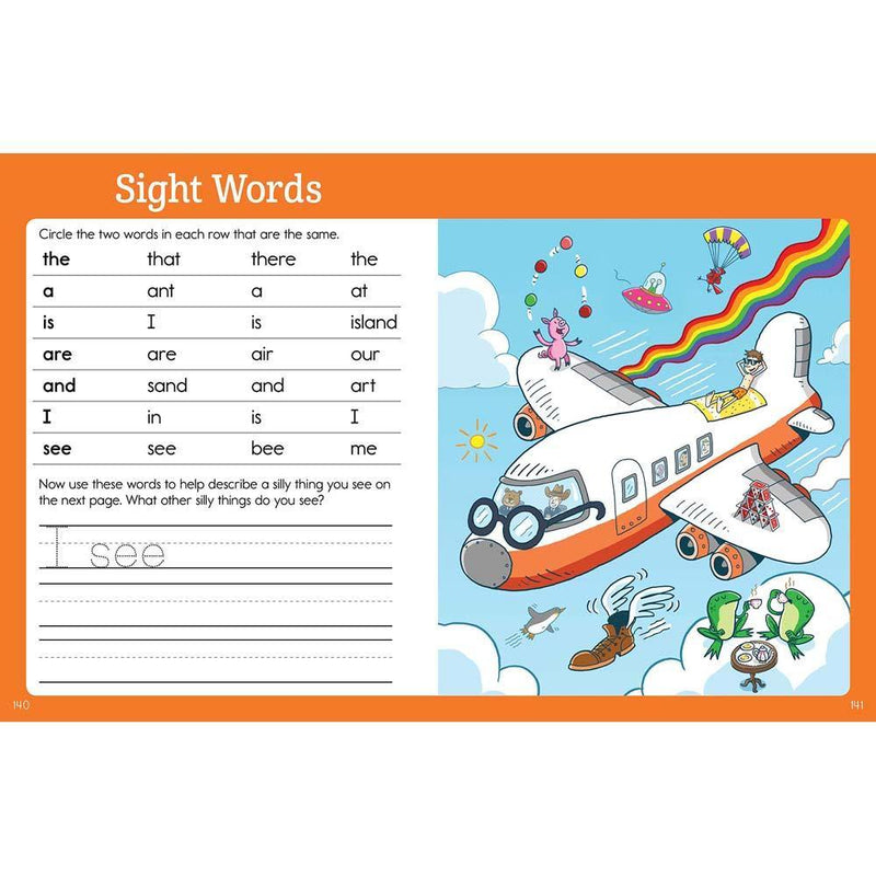 Preschool Big Fun Workbook(Highlights)-BuyBookBook