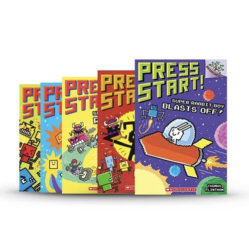 Press Start! #1-5 Bundle (5 Book with CD)-BuyBookBook
