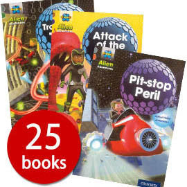 Project X Alien Adventures: Series 2 Collection (25 Books)-BuyBookBook