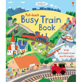 Pull-Back Busy Train Book-BuyBookBook