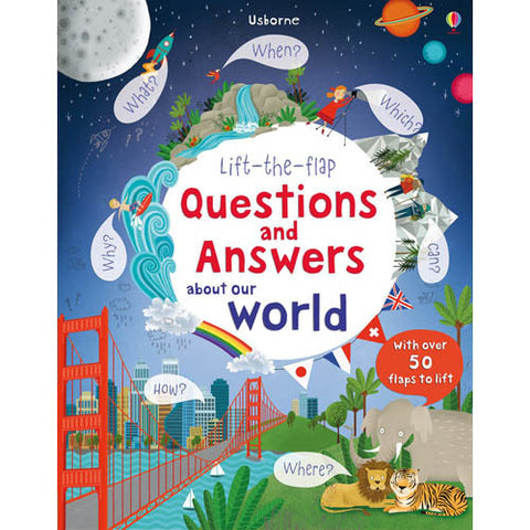 Lift-the-flap Questions and Answers About Our World-BuyBookBook