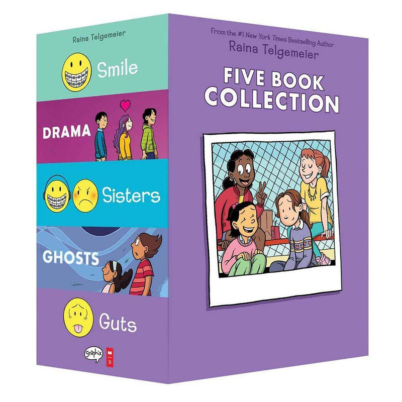 Raina Telgemeier Collection, The (5 Book)-BuyBookBook