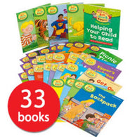 Read With Biff, Chip And Kipper Levels 1 2 3 Collection (33 Books)-BuyBookBook