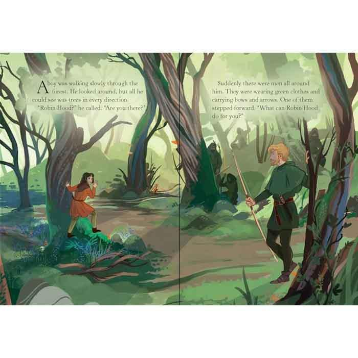 Usborne English Readers (L2) Robin Hood and the Silver Arrow (QR Code)-BuyBookBook