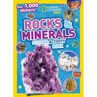 NGK: Rocks and Minerals (Sticker Activity Book)-BuyBookBook