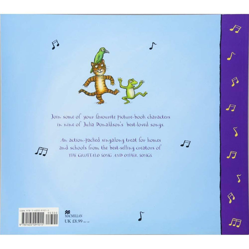 Room on the Broom and Other Songs (Book + CD) (J. Donaldson)-BuyBookBook