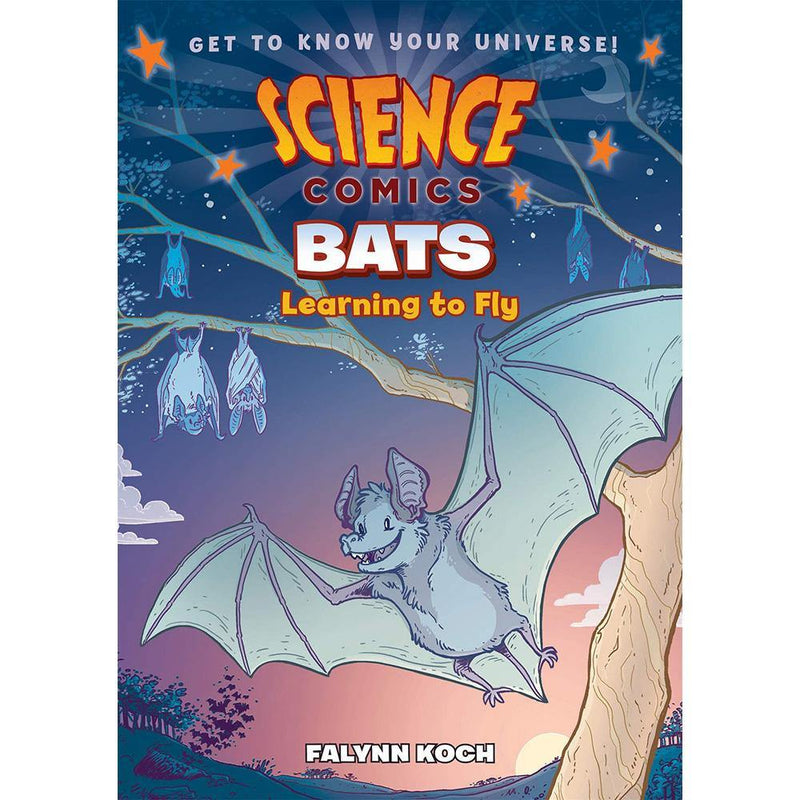 Science Comics: Bats: Learning to Fly-BuyBookBook