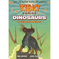 Science Comics: Dinosaurs: Fossils and Feathers (Hardback)-BuyBookBook