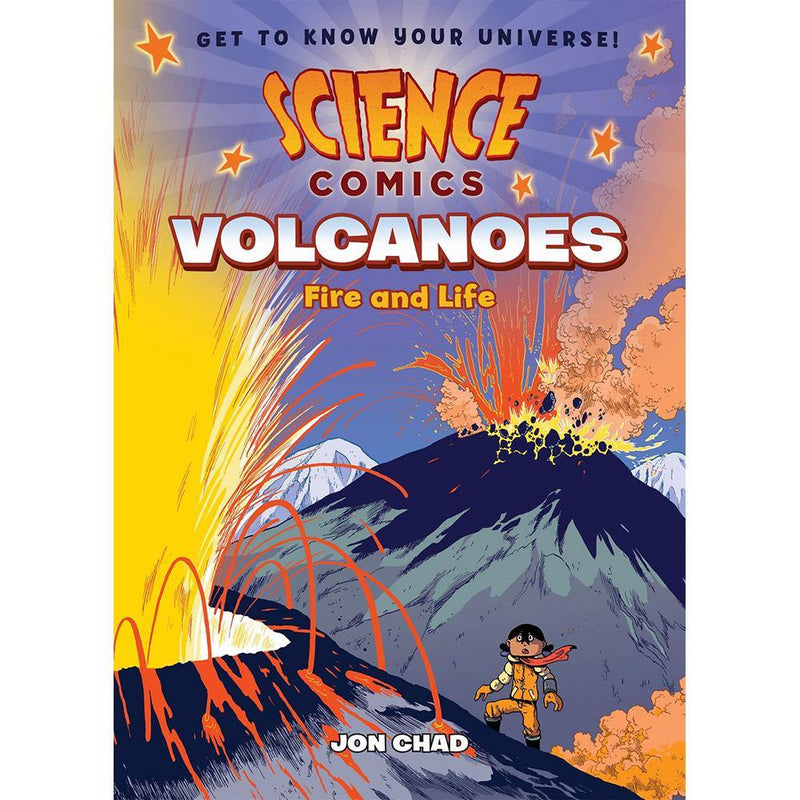 Science Comics: Volcanoes: Fire and Life-BuyBookBook