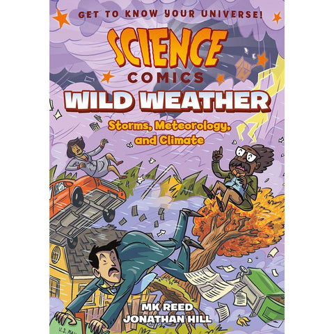Science Comics: Wild Weather: Storms, Meteorology, and Climate-BuyBookBook