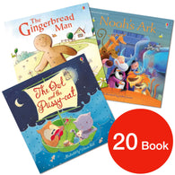 The Usborne Picture Book Bundle (20 Books)-BuyBookBook