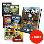 Dog Man #1-7 (7 book bundle)-BuyBookBook