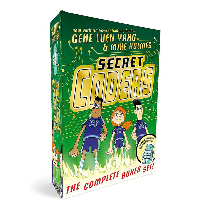 Secret Coders: The Complete Boxed Set Collection (6 Books)-BuyBookBook