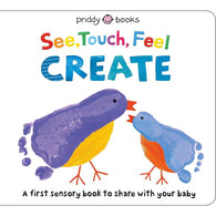See, Touch, Feel: Create: A Creative Play Book (Hardback)-BuyBookBook
