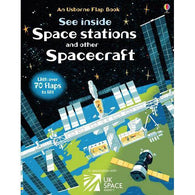 See inside Space Stations and other Spacecraft-BuyBookBook