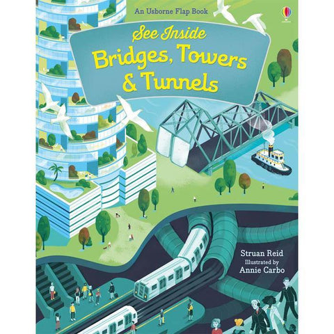 See inside bridges, towers and tunnels-BuyBookBook
