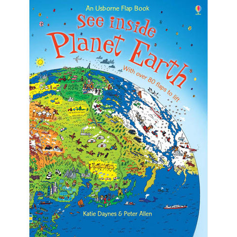See inside Planet Earth-BuyBookBook