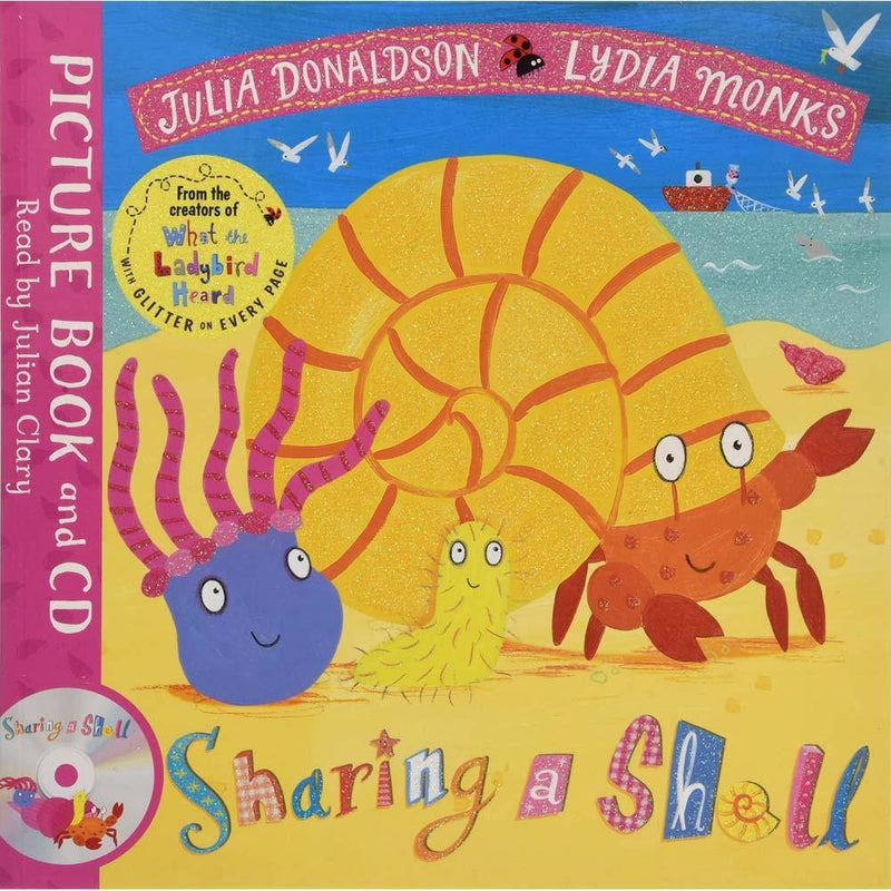 Sharing a Shell (Book + CD) (J. Donaldson)-BuyBookBook