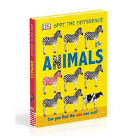 Spot the Difference Animals-BuyBookBook