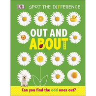 Spot the Difference Out and About-BuyBookBook