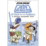 Star Wars Jedi Academy #08 Attack of the Furball (Hardback)-BuyBookBook