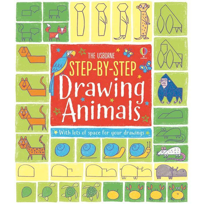 Step-by-step drawing animals-BuyBookBook