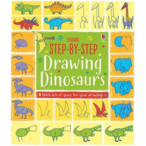 Step-by-step drawing dinosaurs-BuyBookBook