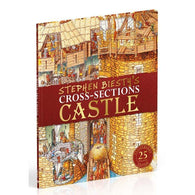 Stephen Biesty's Cross-Sections Castle (Hardback)-BuyBookBook
