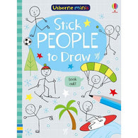 Stick people to draw (Mini)-BuyBookBook